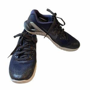 Nike Navy Blue Metcon Training Sneakers